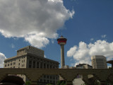 Calgary Tower from Olympic Plaza