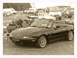 Our non british  british sports car. A true modern Classic the mx5