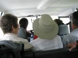 En taxi para comenzar una ruta