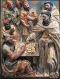 San Pedro Nolasco redimiendo cautivos (Pedro de la Cuadra)
