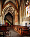 There are many different reasons for roaming inside an ancient church...