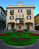 The merry Town Hall of Baveno....