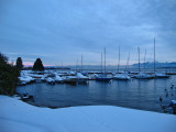 No, the lake never freezes....