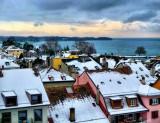 Winter roof tops....
