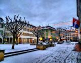 Early morning snowfall...