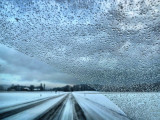 Winter by car....