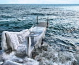 The Winter Queen's personal pier...