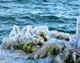 Blue ice....