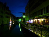 A night walk along  a canal....