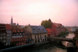 The last of our sunrises in Strasbourg...