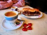 At Rougemont Café for breakfast