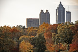piedmont park, atlanta, georgia - november, 2007