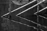 Diagonal poles