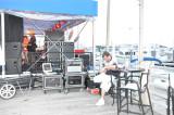 Recording Eddie's Garage on The Deck at Trump Marina