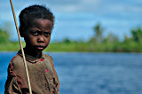 Very young fisherman