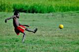 Rice field soccer