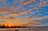 Sunset in Vatomandry