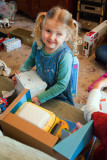 Abigail Opening Her Presents, 2613