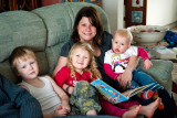Claire and Her Nephews and Nieces, 2454