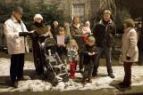 Group Singing Carols at Buttercross,  2475