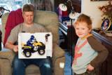 James & Sam With Quad Bike,  2612