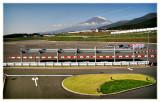 Toyota test rack, Fuji Speedway, Japan