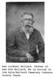 Asa Lorenzo Bullard son of Wright Bullard Sr.