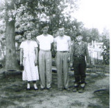 Left to right - Ada, William Thomas, Winford, & Wayne Boyet 1957