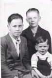 William (Willie), Wayne, & Winford Boyet - Circa 1945