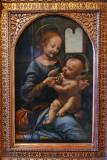 Madone à la fleur (Leonard de Vinci)