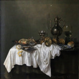 Déjeuner à la langoute (Willem Claez Heda)