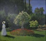 Dame dans le jardin ( Claude Monet)