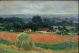 Meule de foin à Giverny ( Claude Monet)