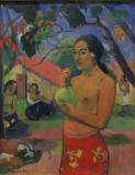 Femme au fruit ( Paul Gauguin)