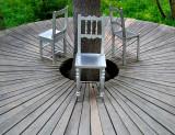 trois chaises à Métis