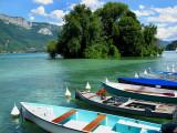les barques du Lac
