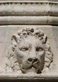 le lion de pierre