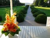 Le bouquet orange
