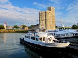 le bateau pour Fort Boyard