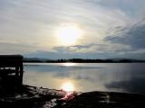 Arrivée au lac Kénogami