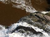 du haut du barrage