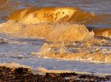 vaguelettes de plage