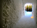 Le couloir vers le jardin d'hiver