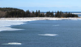 Baie de Métis et son phare
