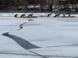 fracture sur glace