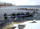 Police ville de Québec sur le fleuve