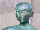 tête nue de bronze