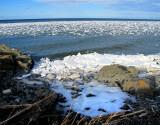 La pointe aux galets en hiver