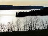 le Saguenay en presque noir et blanc