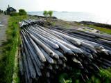 pieux de pêcheurs, Kamouraska